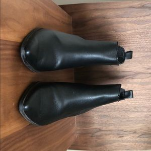 Faux-Leather Ankle Boot for Women